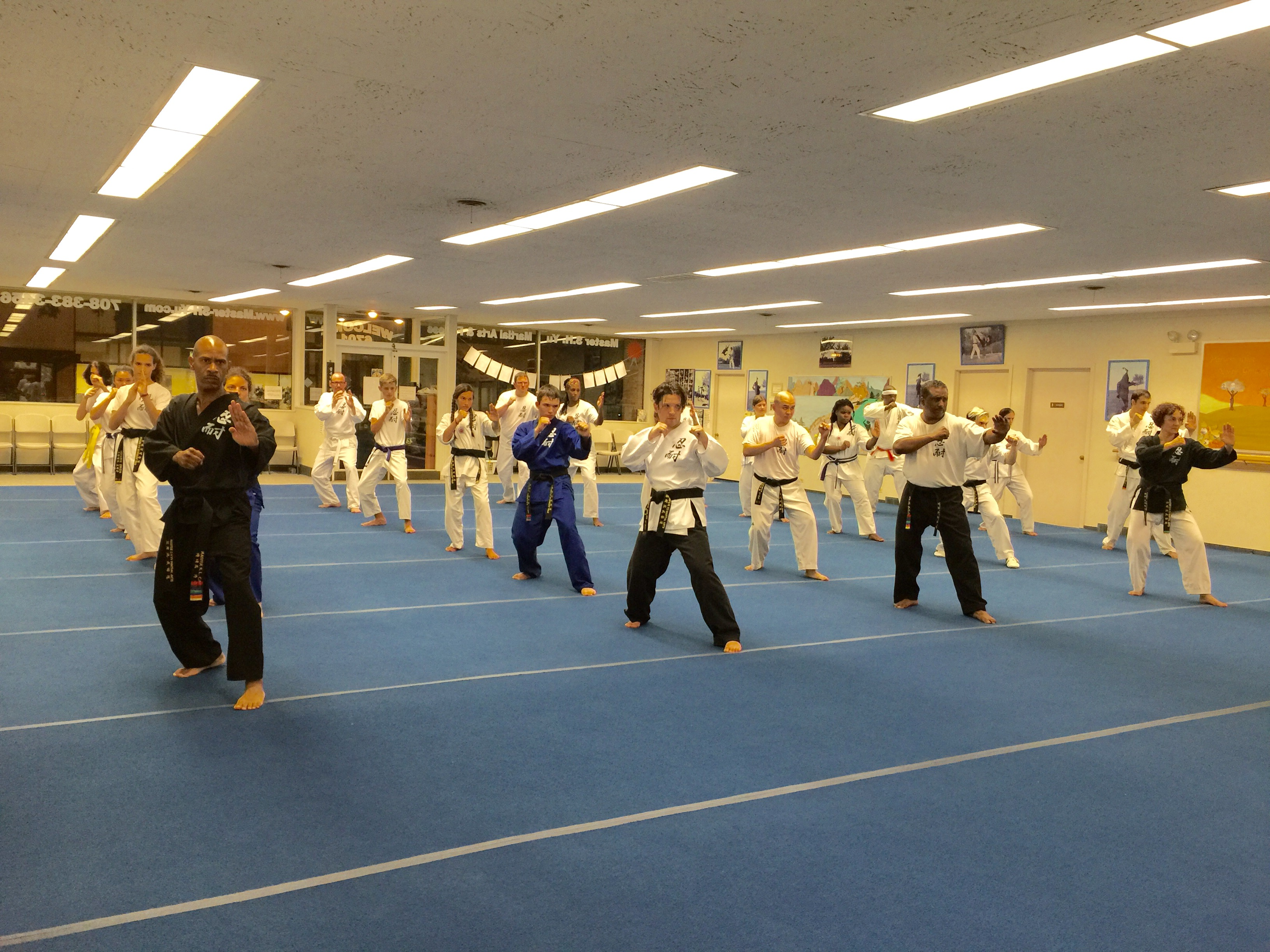 adult karate classes