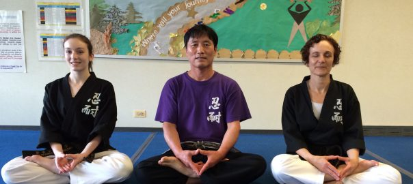 inner peace from Martial Arts practice