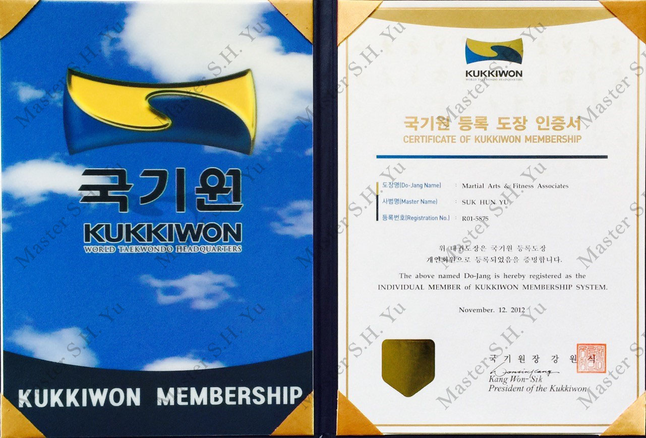 Kukkiwon World Tae Kwon Do Federation Organization Membership