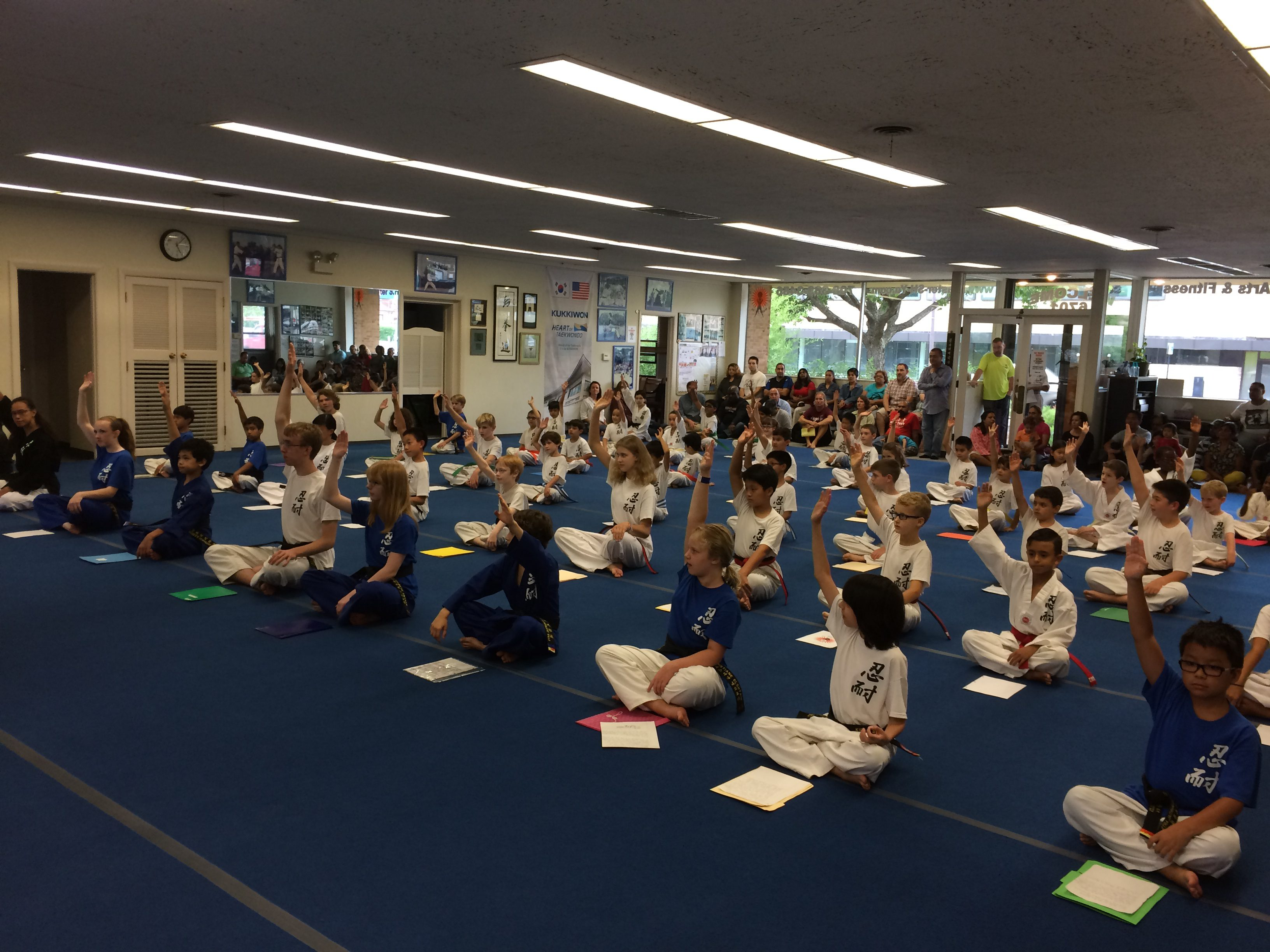 Martial-arts-promotion-ceremony