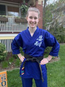 Kirsten Kuehl Martial Artist