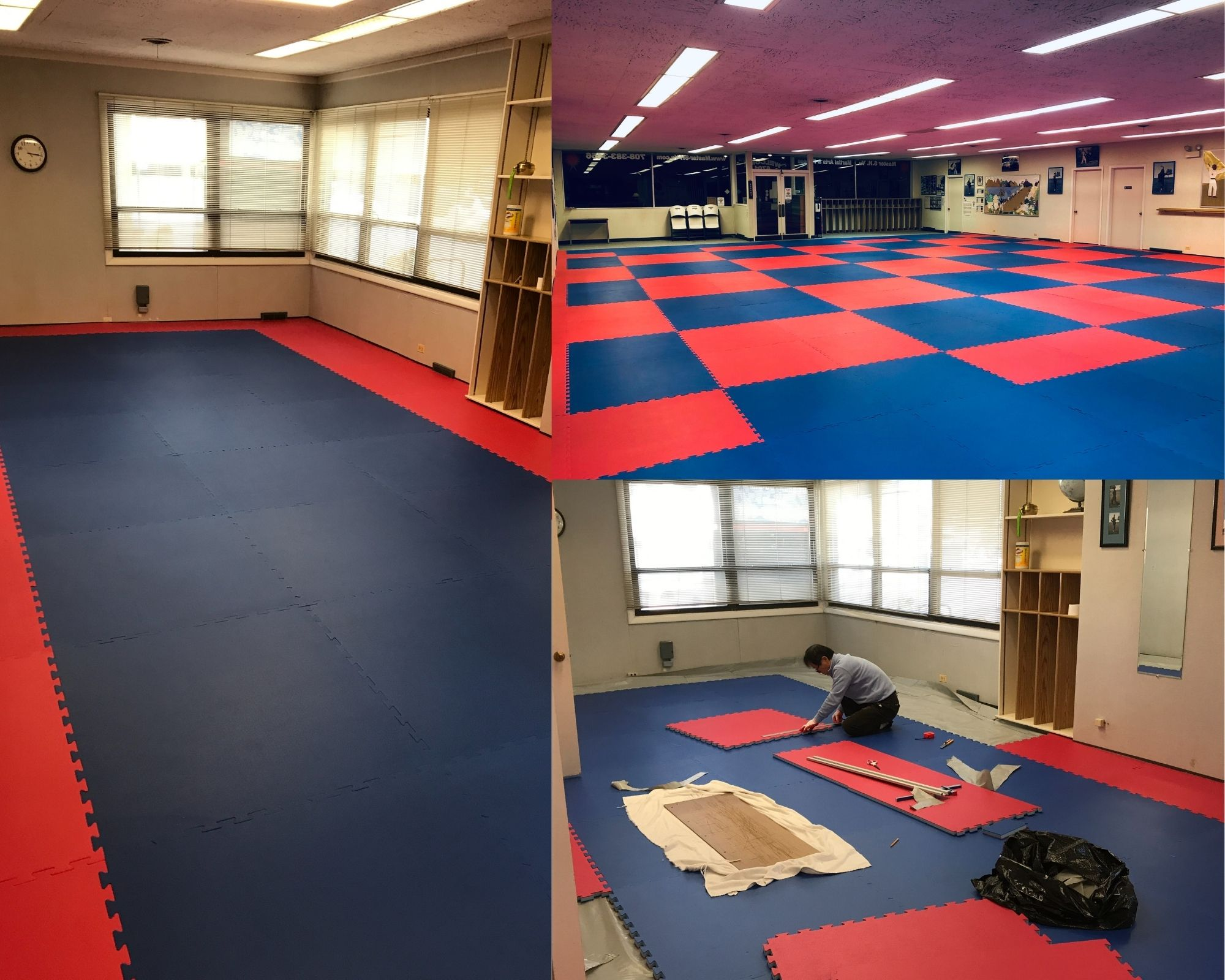 Master S.H. Yu Martial Arts Reopening Collage