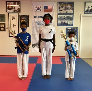 Personal growth and bonding in martial arts